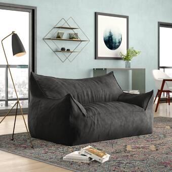 Greyleigh™ Extra Large Bean Bag Sofa & Reviews | Wayfa