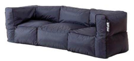 Modular Bean Bag Sofa | Bean bag sofa, Swivel chair living room .
