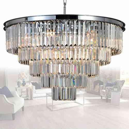 Beautiful Crystal Chandelier Modern Chandeliers Lighting - BestBuy
