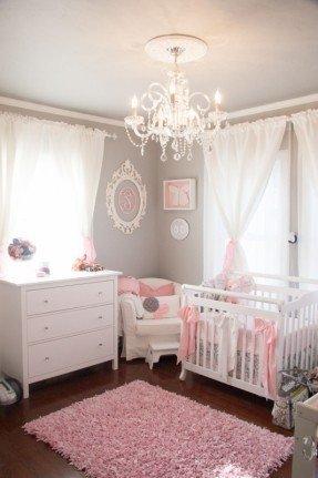 Chandelier Girls Room - Ideas on Fot