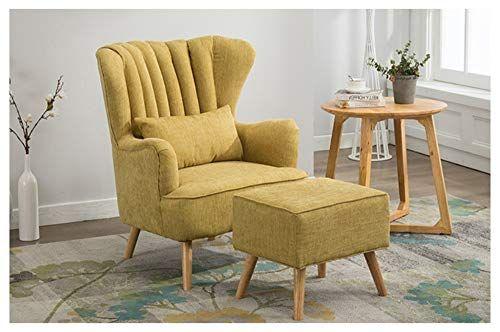 QXX Lazy Sofa Single Chair Fabric Sofa Bedroom Living Room Office .