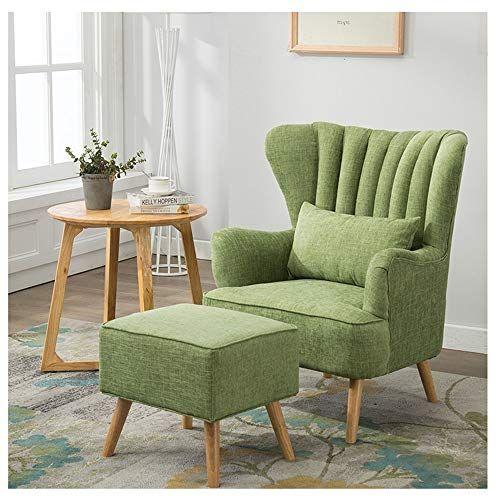 LYQZ Lazy Sofa Single Chair Fabric Sofa Bedroom Living Room Office .