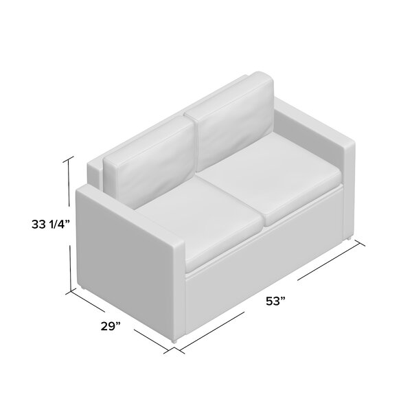 Belton Loveseat with Cushions & Reviews | Joss & Ma