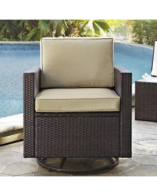 Special Prices on Mercury Row Belton Swivel Patio Chair with .