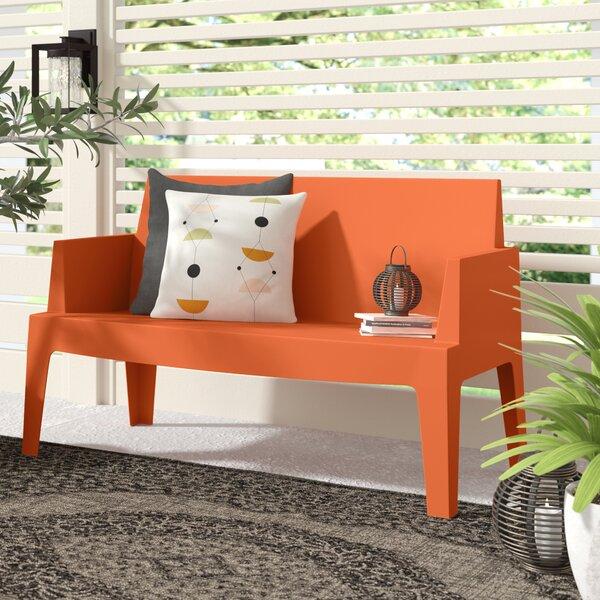 Mercury Row® Bence Garden bench & Reviews | Wayfa