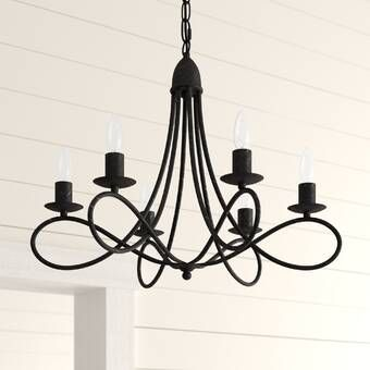 Forney 4 - Light Lantern Geometric Chandelier in 2020 | Candle .