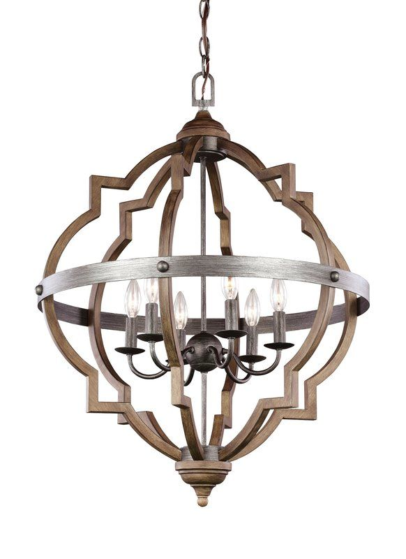 Bennington 6 Light Candle Style Chandeliers
