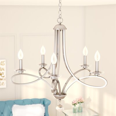 Adorable Berger 5-Light Chandelier | TechOurLife.c