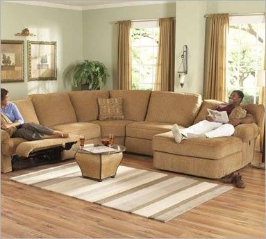Berkline 40080 Sectional Pressback Chaise with recliner | Family .