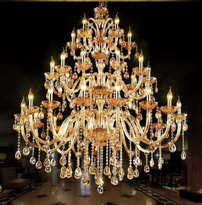Unusual big chandeliers for Hotel Project Lighting chandelier .