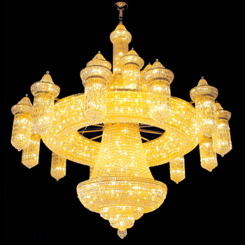 Crystal Custom Made Mosque Big Chandeliers Lt-62035 - Buy Mosque .