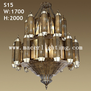 Handmade Antique Copper Big Chandeliers Light - Buy Moroccan .