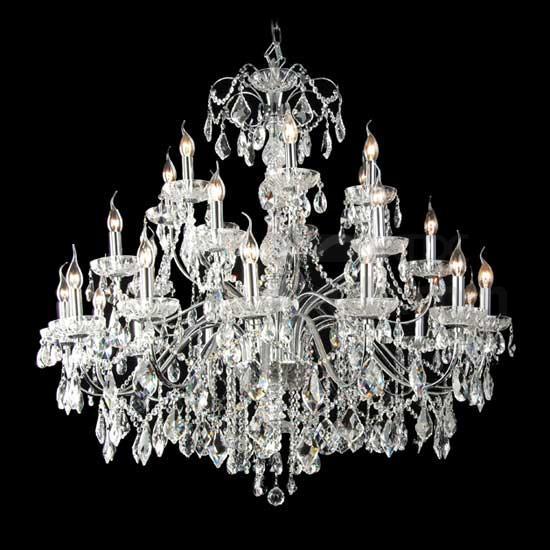 Big Crystal Chandelier Lighting for Hotel, Big Crystal Chandelier .