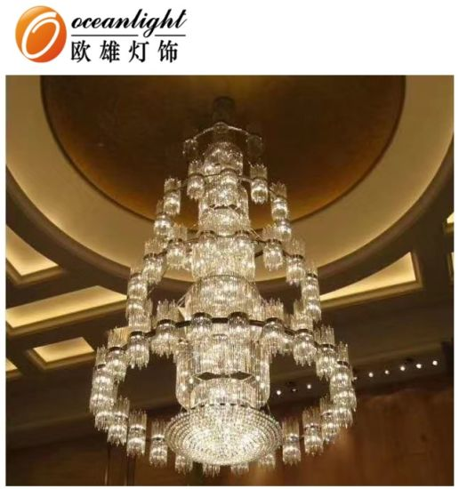 China Big Project Chandelier Pendant Light Chandelier Lighting .