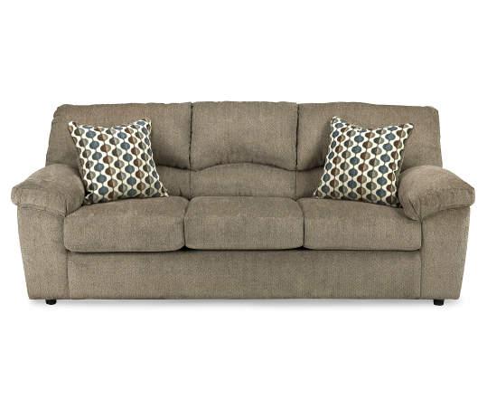 Signature Design By Ashley Pindall Brown Sofa | Big Lo