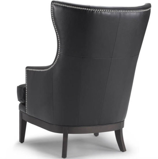 China Leather and Wood Sofa Chair Big Sofa Chair (M-X1052) - China .