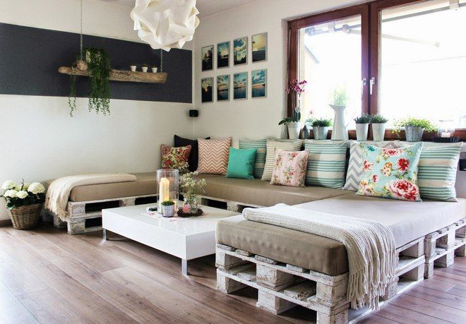 DIY pallet furniture ideas - 40 projects that you haven't seen .