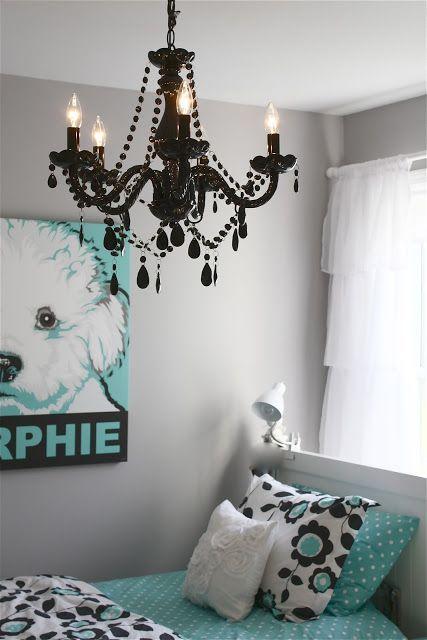 Cool Bedroom Ideas for Teenagers | Girl room, Chandelier bedro