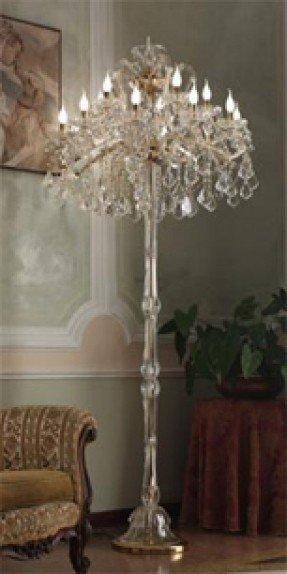 Chandelier Floor Lamps - Ideas on Fot