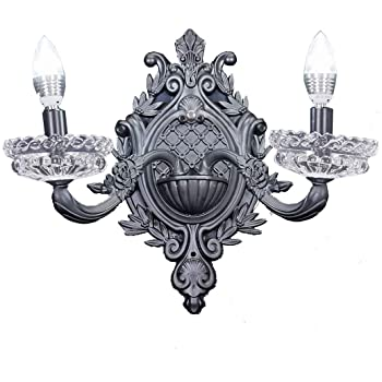 New legend 2-Light Black Finish Wall Sconce Lights Chandelier Wall .