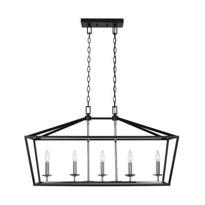 Black - Chandeliers - Lighting - The Home Dep