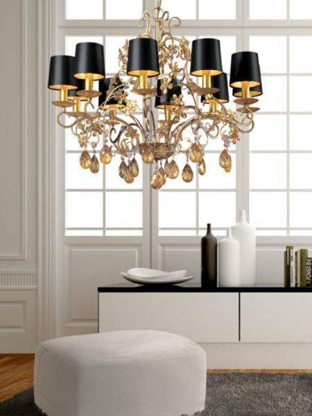 25 Ways to Add Black Lamp Shades and Exclusive Style to Modern .
