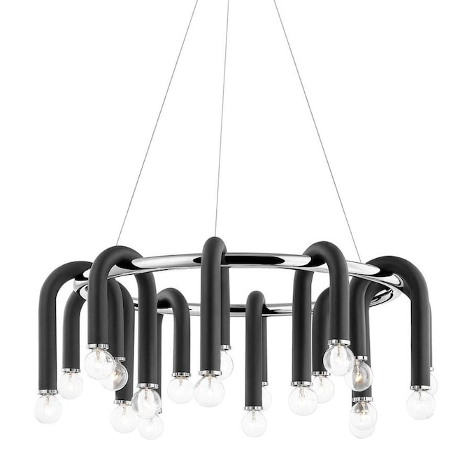 Mitzi by Hudson Valley Lighting Whit 20-Light Polished Nickel .
