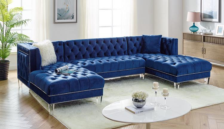China Home Furniture Living Room Modern Design U Shaped Sectional .