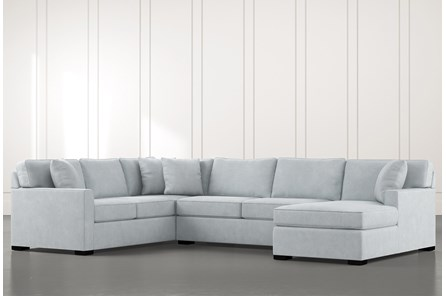 Blue U-Shaped Sectionals & Sectional Sofas | Living Spac