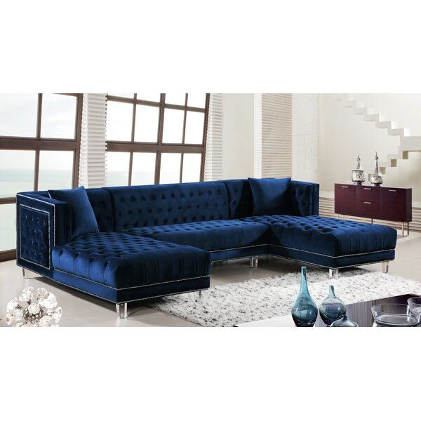 Suzanne Symmetrical Sectional in 2020 | Furniture, Sectional sofa .