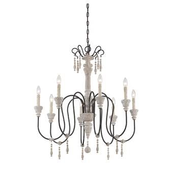 Bouchette Traditional 6-Light Chandelier & Reviews | Joss & Main .