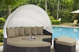57% Off Sol 72 Outdoor™ Brentwood Patio Daybed with Cushions .