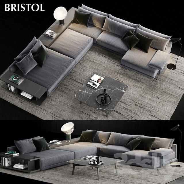 Poliform Bristol Sofa 3 | Living room sofa design, Couches living .