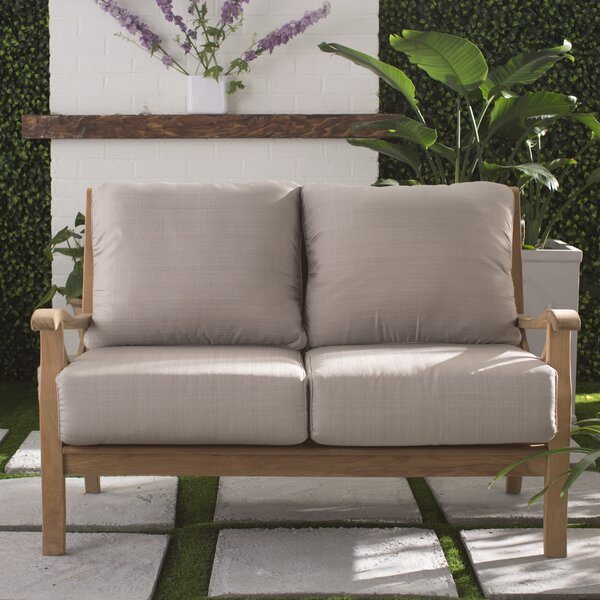 Brunswick Teak Loveseats With Cushions