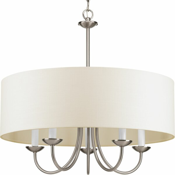 Burton 5 - Light Shaded Drum Chandelier & Reviews | Joss & Ma