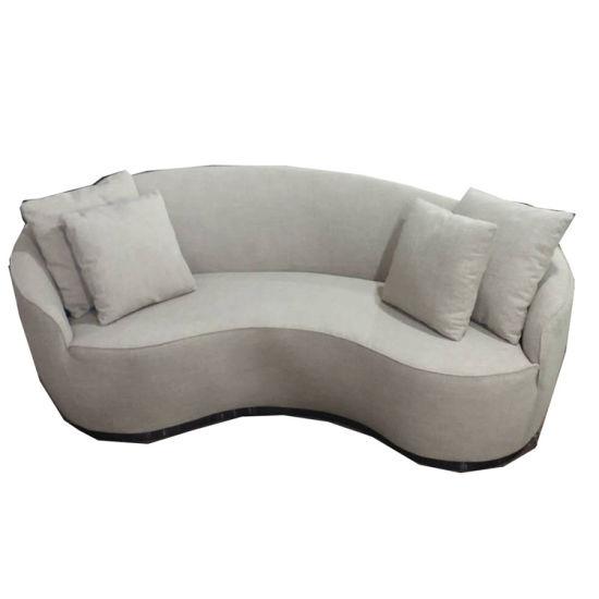 Semi-Circle Curved Sofa C Shaped Sofa Style Provincial .