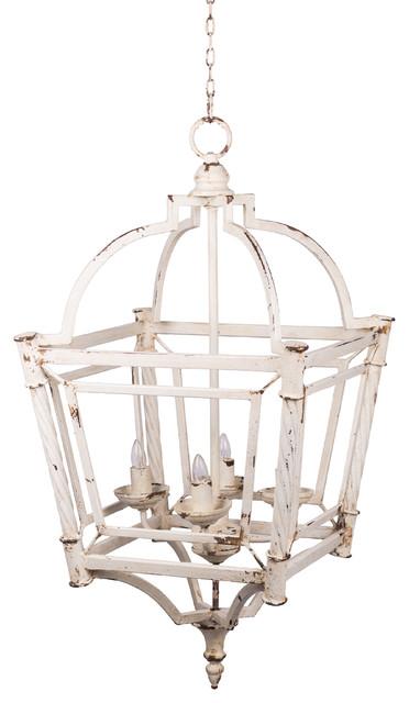 "Classic Vintage Bird Cage Chandelier 18""x18""x35"" - Farmhouse ."