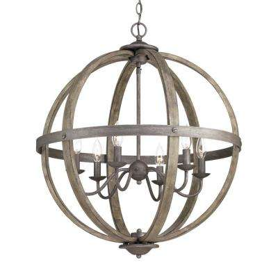 Progress Lighting - No Bulbs Included - Cage - Chandeliers .
