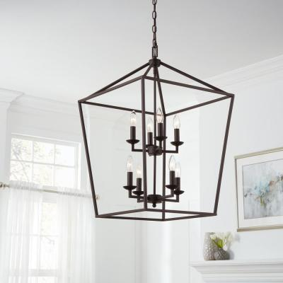 Cage - Chandeliers - Lighting - The Home Dep