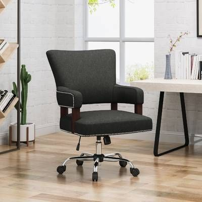 Caine Office L-Shaped Desk | Home office chairs, Office chair .