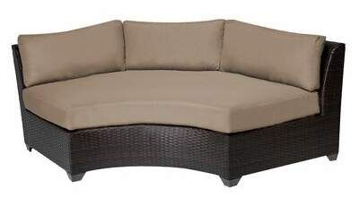 Rosecliff Heights Camak Patio Sofa with Cushions Rosecliff Heights .