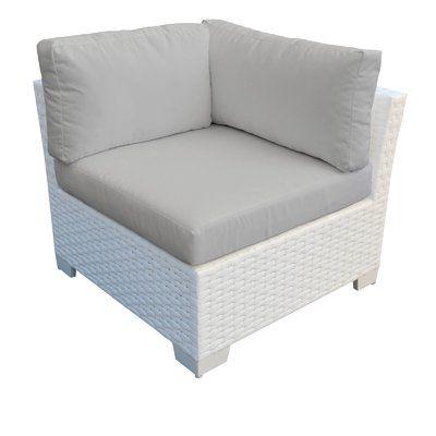 Camak Patio Loveseats With Cushions