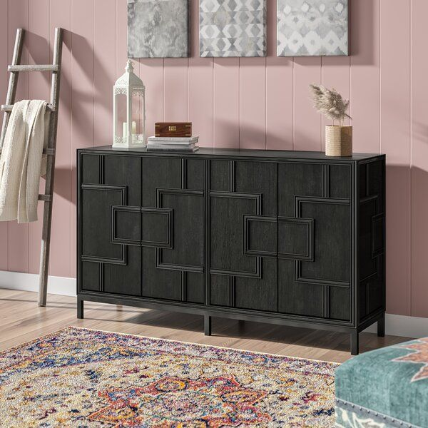 Candide Wood Credenza (With images) | Wood credenza, Furniture .