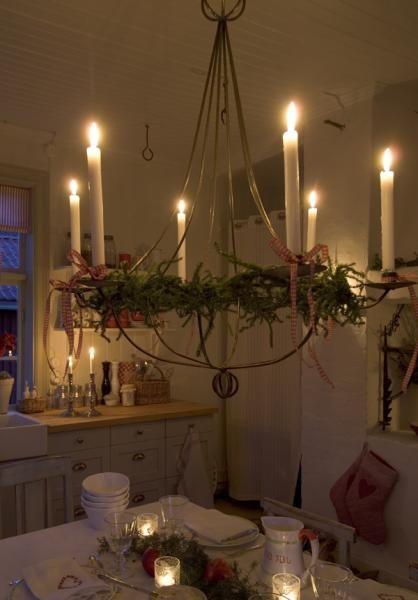 Vintage chic: jul | Candlelight, Candle glow, Chandeli