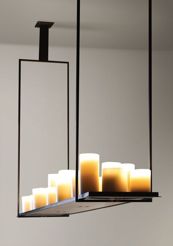 Pin by Linnea's Lights on For the Home | Contemporary chandelier .