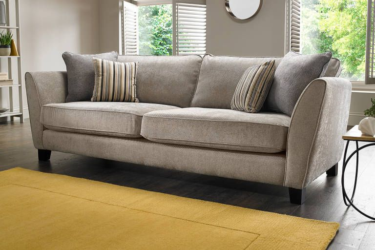 Canterbury | Sofology | Velvet sofa living room, Footstool living .