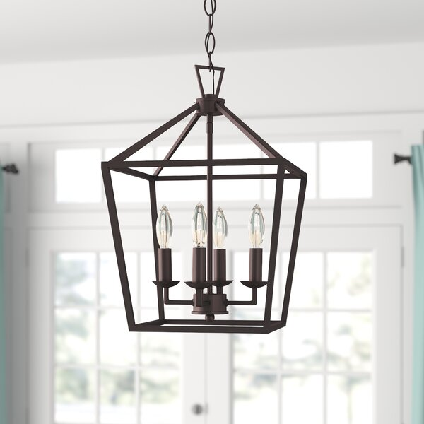 Carmen 4-Light Lantern Geometric Pendant & Reviews | Joss & Ma