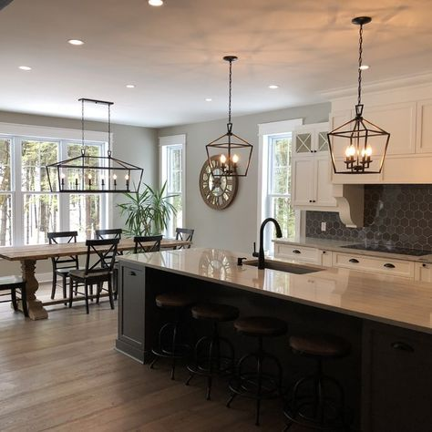 Carmen 4 - Light Lantern Geometric Pendant | Home decor kitchen .