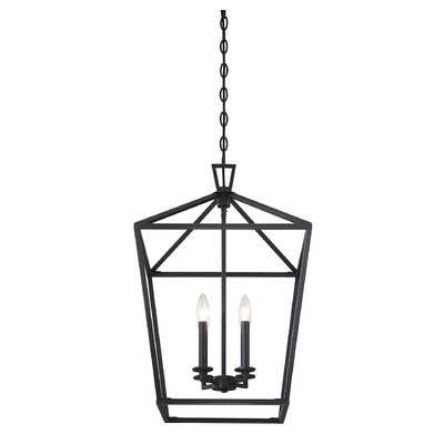 Carmen 6 - Light Lantern Geometric Chandelier in 2020 | Lantern .
