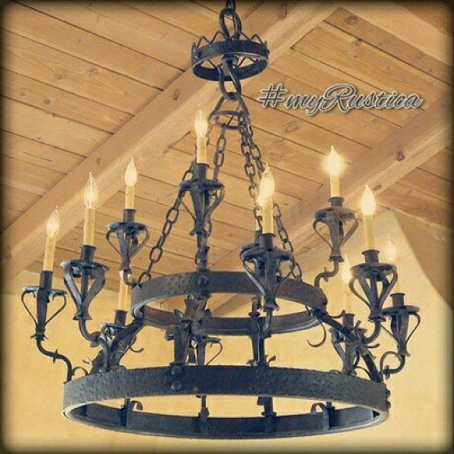 Hacienda Chandeliers ® | Wrought iron chandeliers, Iron .
